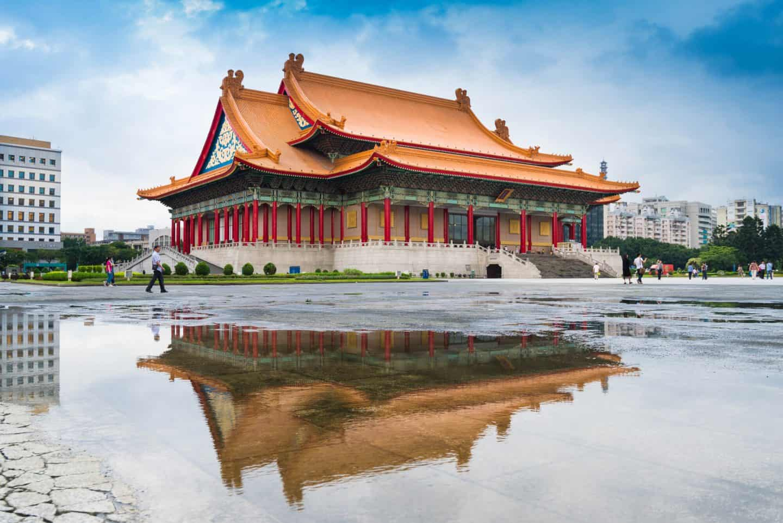 Chaing Kai Shek Memorial Hall