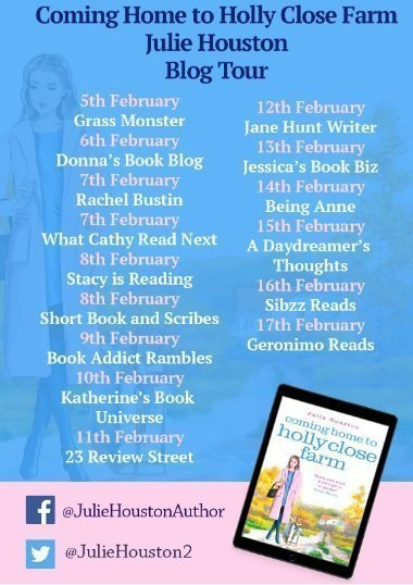 Coming Home to Holly Close Farm blog tour poster