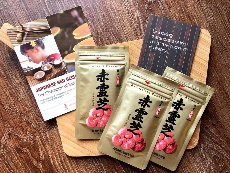 Japanese Red Reishi mushroom
