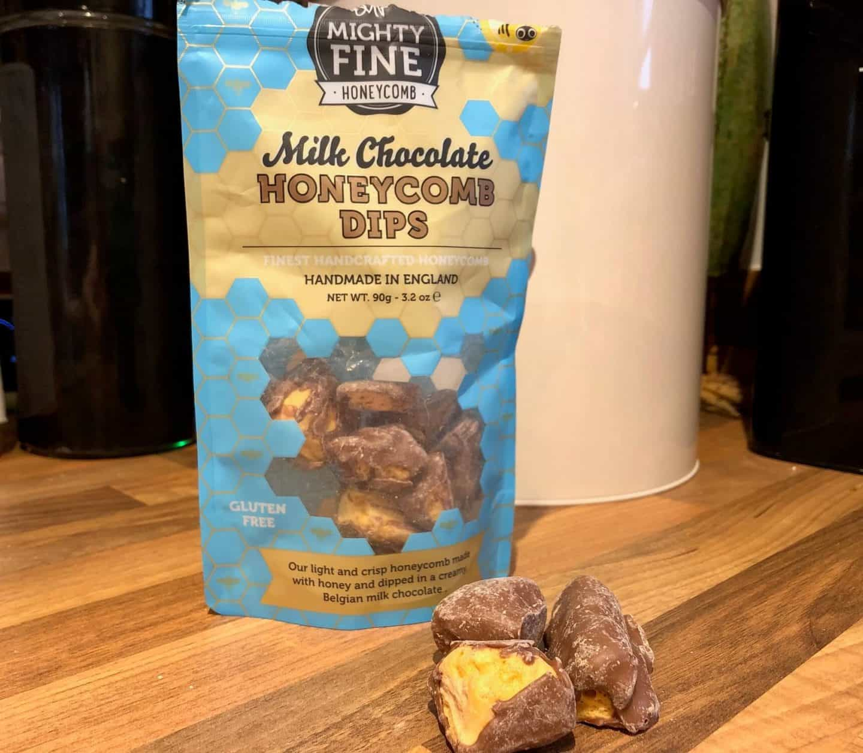Mighty Fine Honeycomb chocolates