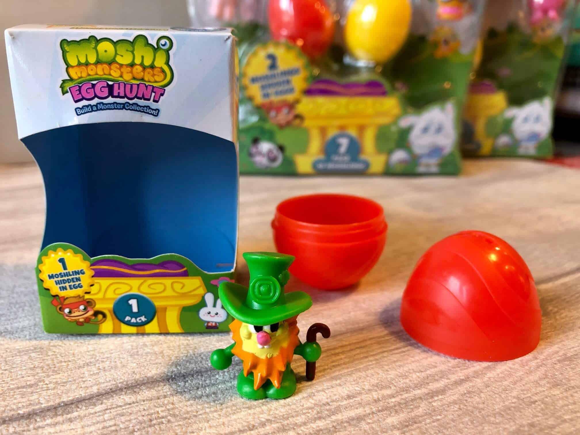 Moshi Monsters Egg Hunt 1 pack Luckie