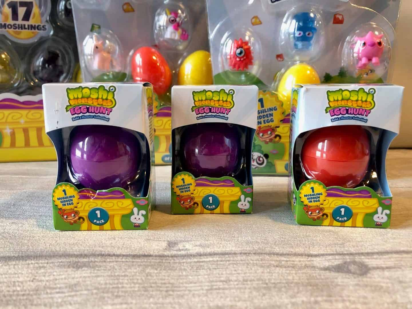 Moshi Monsters Egg Hunt  1 pack collection