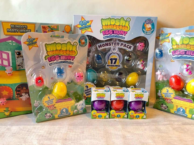 Moshi Monsters Egg Hunt Collection