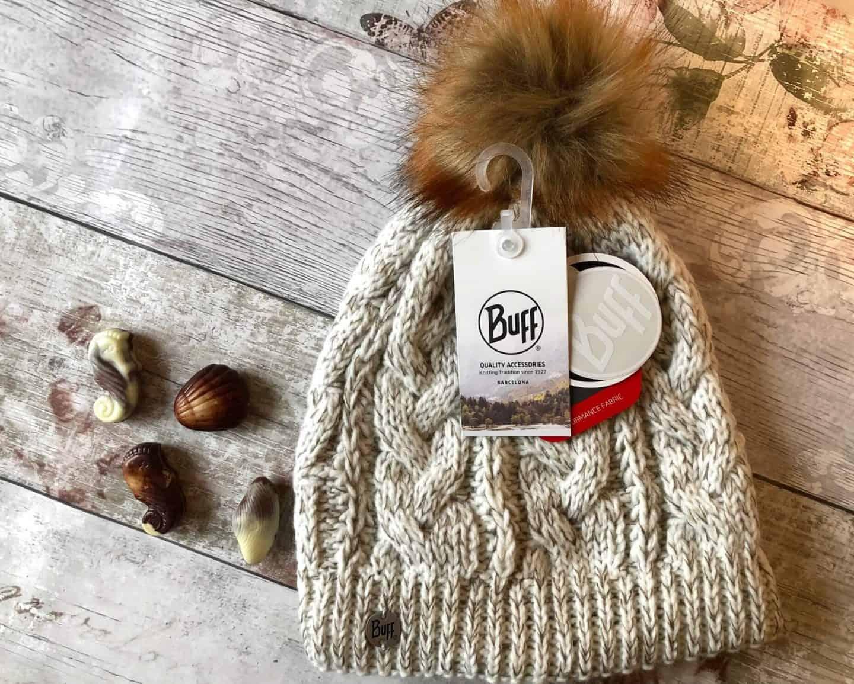 Buff woolly hat