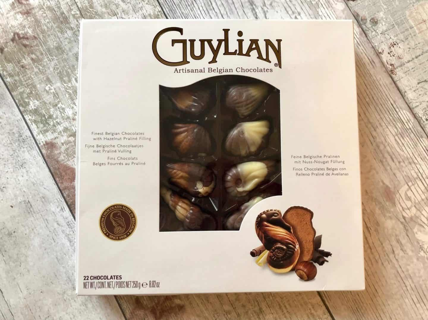 Guylian seashell chocolates