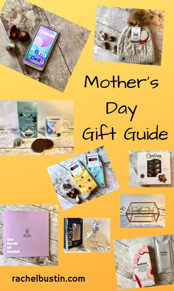 A Mother's Day Gift Guide suitable for all, mums and grandmothers. Gift ideas to buy, for adults, Mother's Day gift ideas, small gifts, for grandmother, from teens, unique gifts, personalised gifts #mothersday #giftideas #mothersdaygifts #forgrandmother #unique #thoughtful #chocolate see more at rachelbustin.com