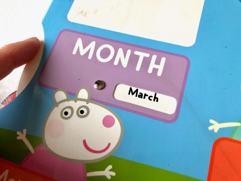 My First Calendar - months