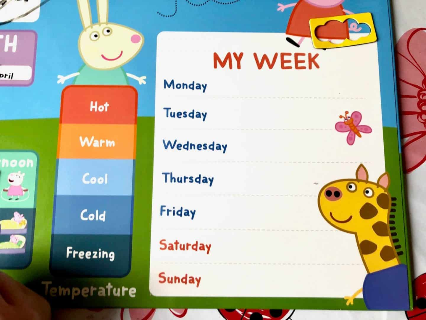 My First Calendar - - my week appointments