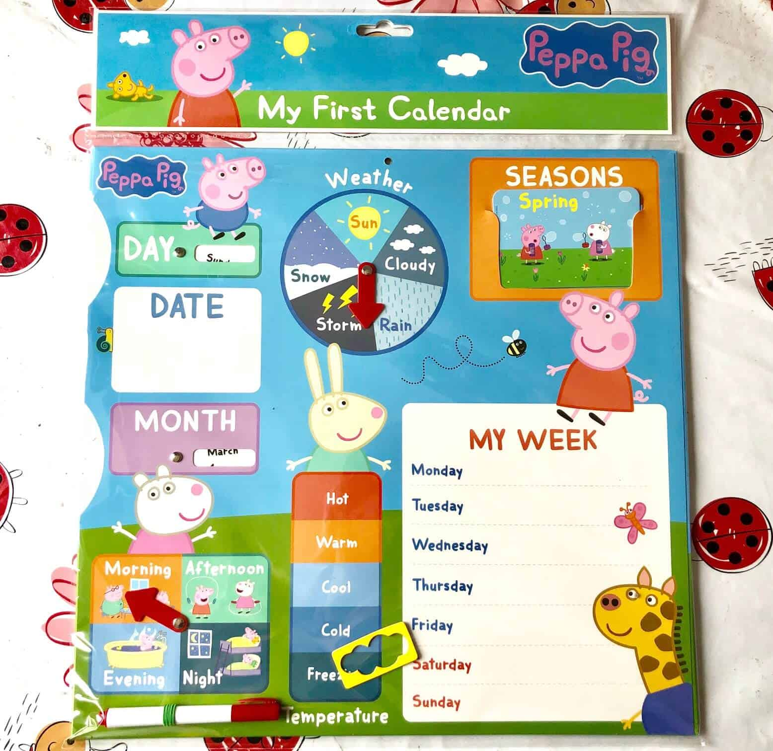 Peppa Pig: My First Calendar