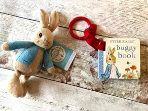 Peter Rabbit Bean Toy and Buggy Buddy Book Giveaway