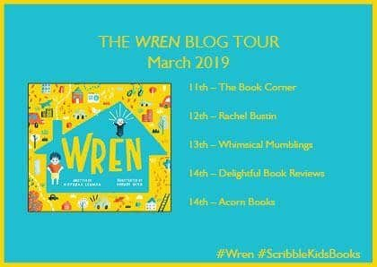 Wren blog tour banner