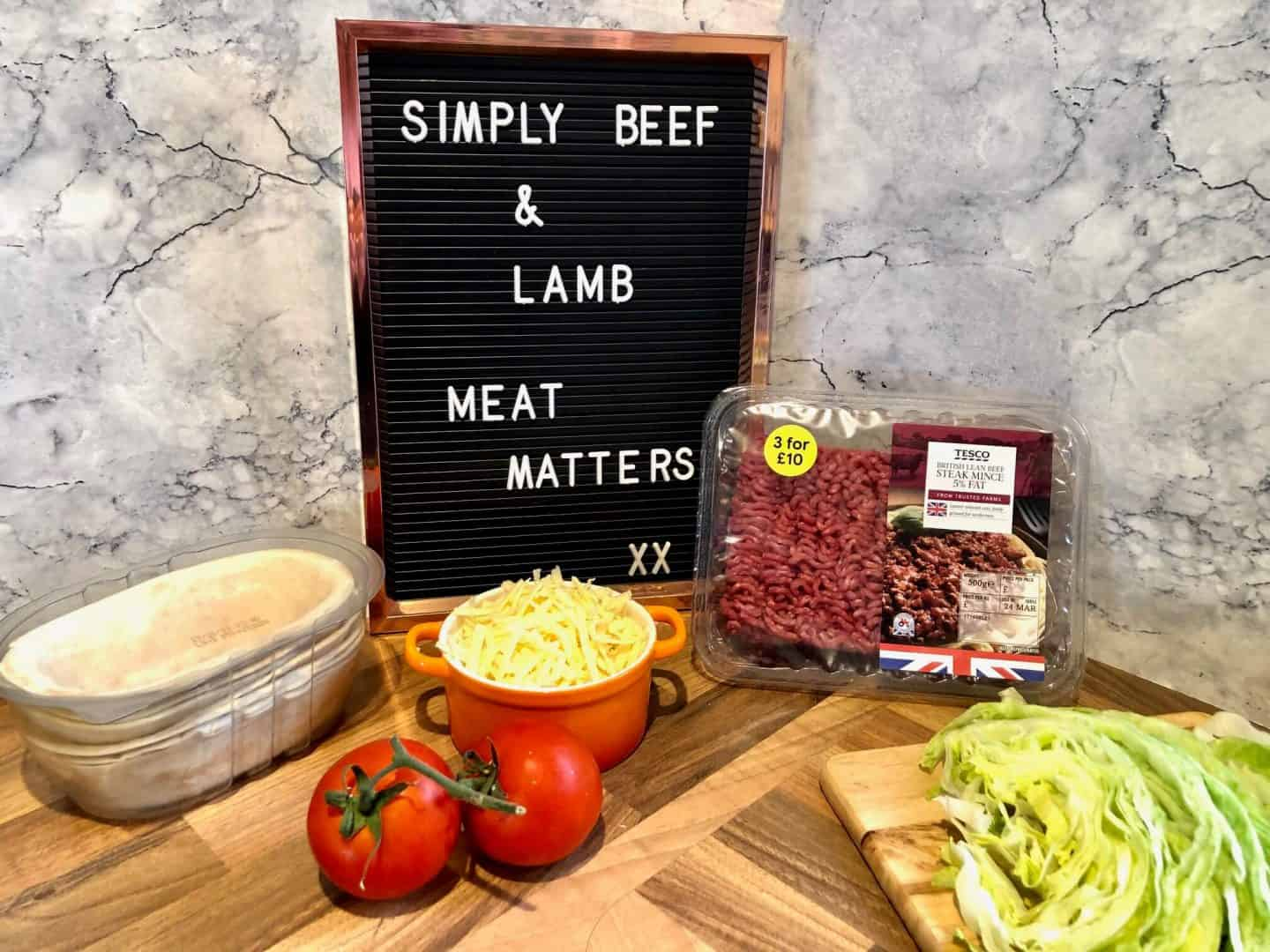 #meatmatters challenge recipe for tacos
