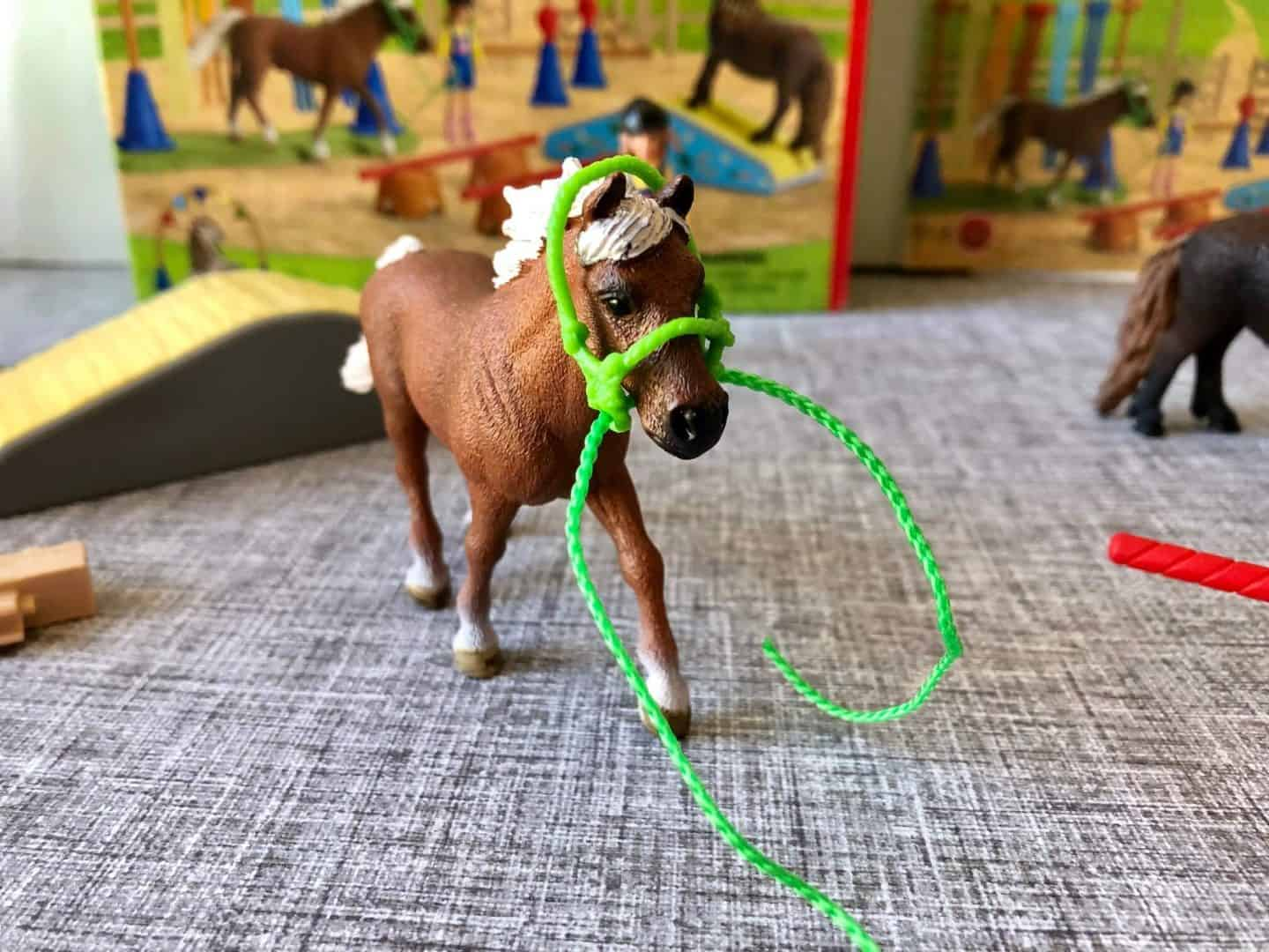 Schleich Pony Agility Training Play Set Review