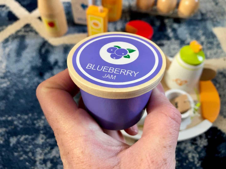 wooden toys - blueberry jam