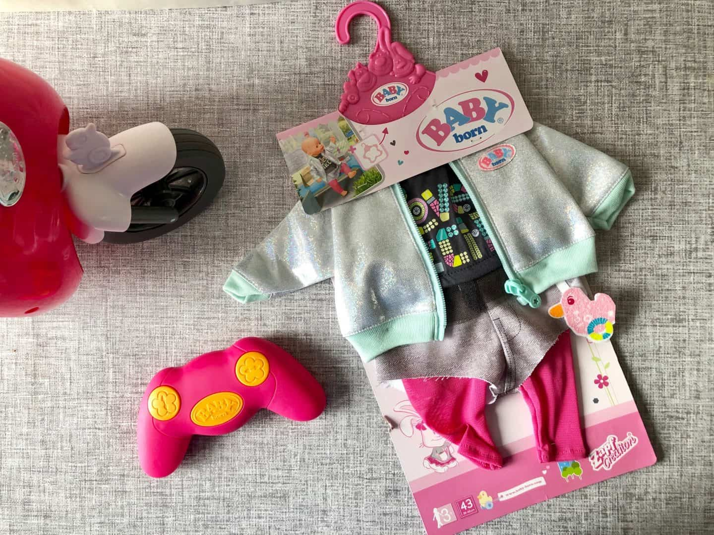Baby Born City  Scooter and City Outfit Review