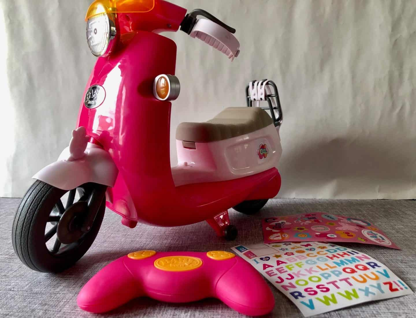 Baby Born Remote Controlled City Scooter with stickers