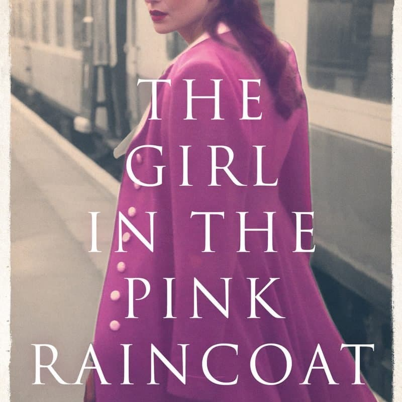 The girl in the pink raincoat