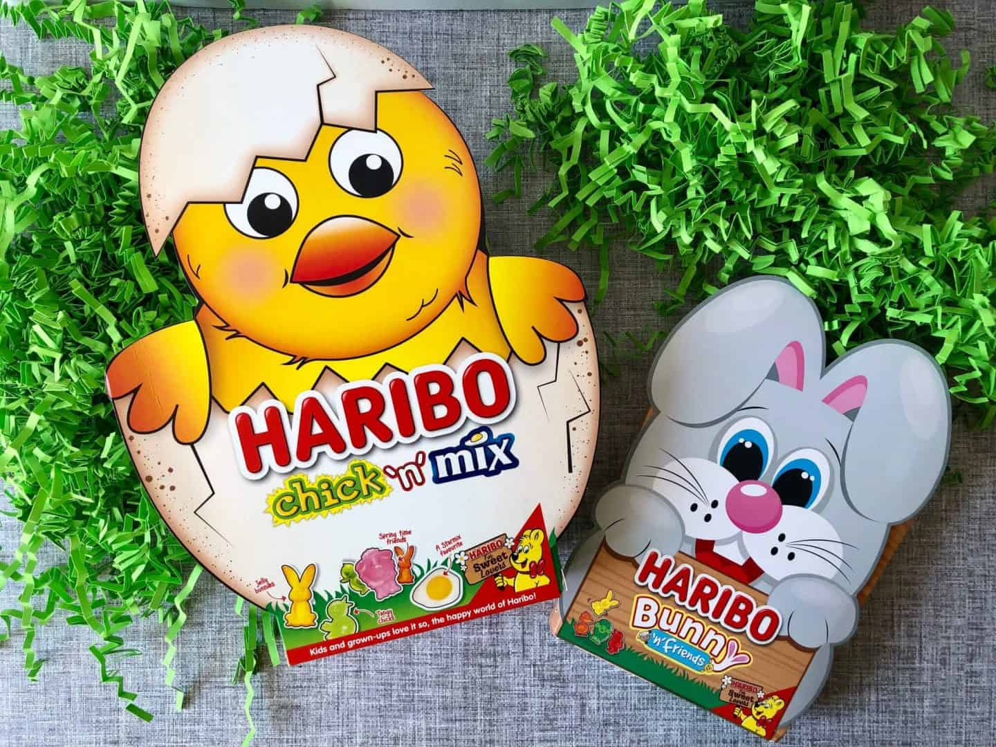 Haribo - Chick 'n' Mix and Bunny 'n' Friends limited edition Easter packs