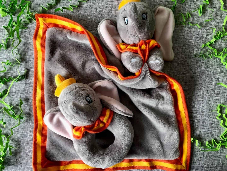 Disney Dumbo Baby ring rattle and comforter