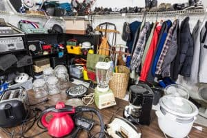 Get Rid of Excess Clutter Before You Move: 5 Tips for Organizing a Garage Sale
