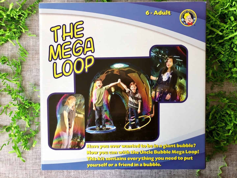 Uncle Bubble Mega Loop Giant Bubble Maker Kit box
