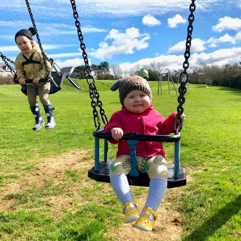What Girls on the swings - We Have Enjoyed In March