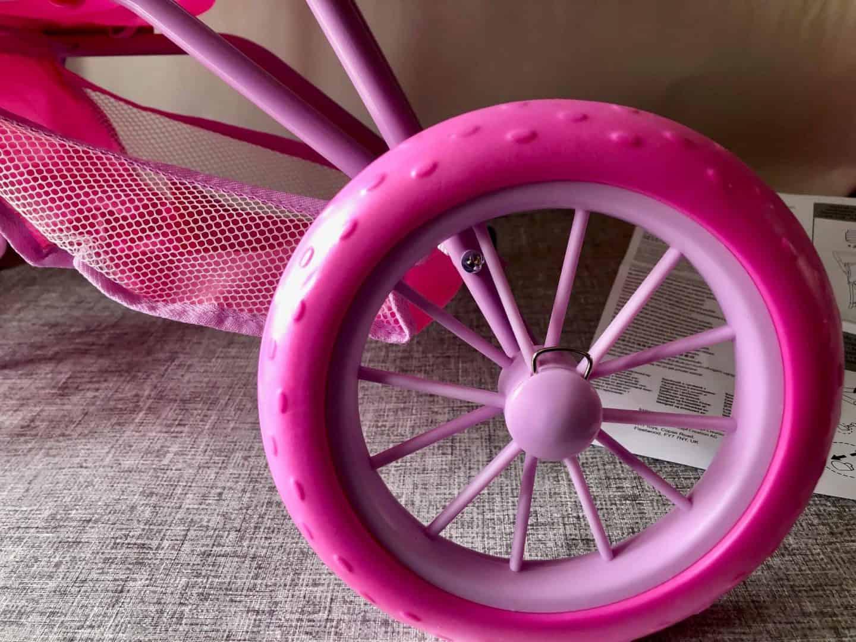 Wheels on the Baby Born Tri Pushchair