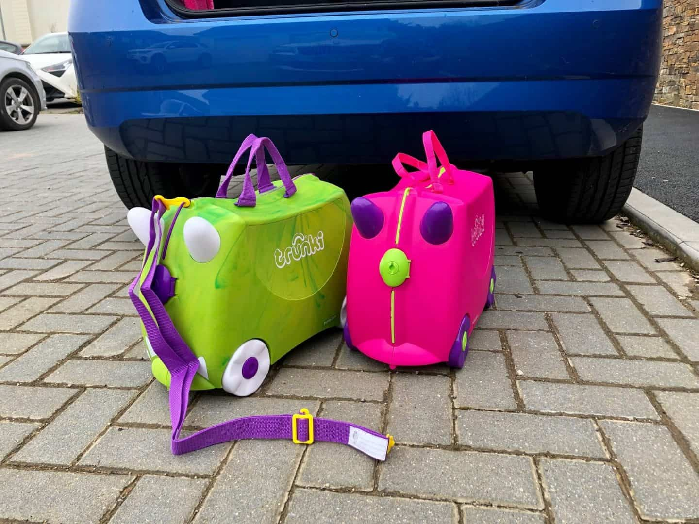 kids can pack Trunki with all their favourite belongings whilst parents keep them in tow