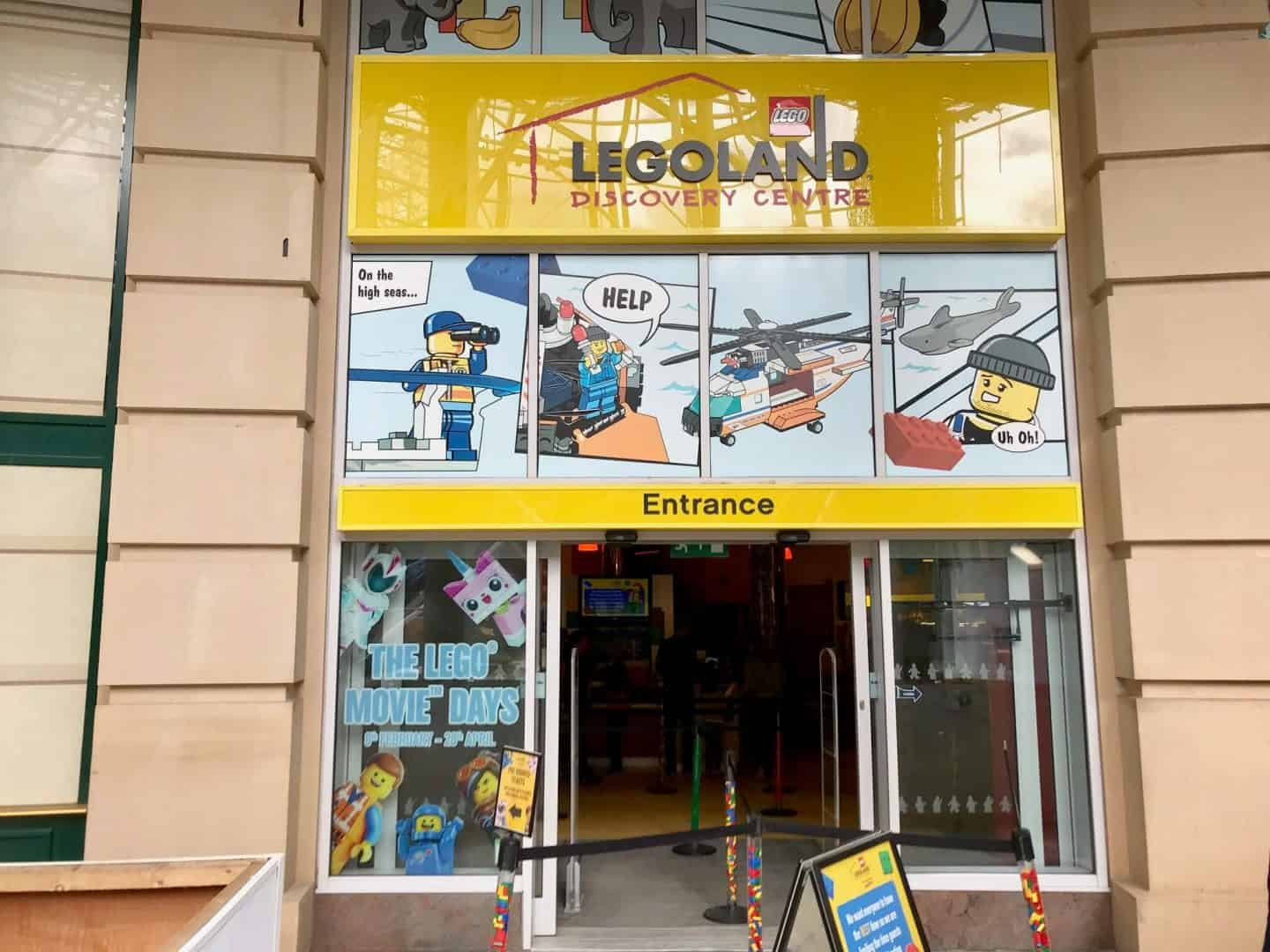A Day Out In Manchester: Legoland Discovery Centre Review