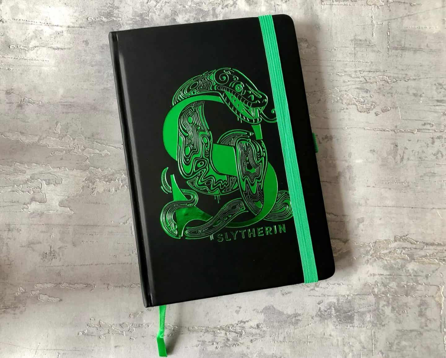 Slytherin-Notebook