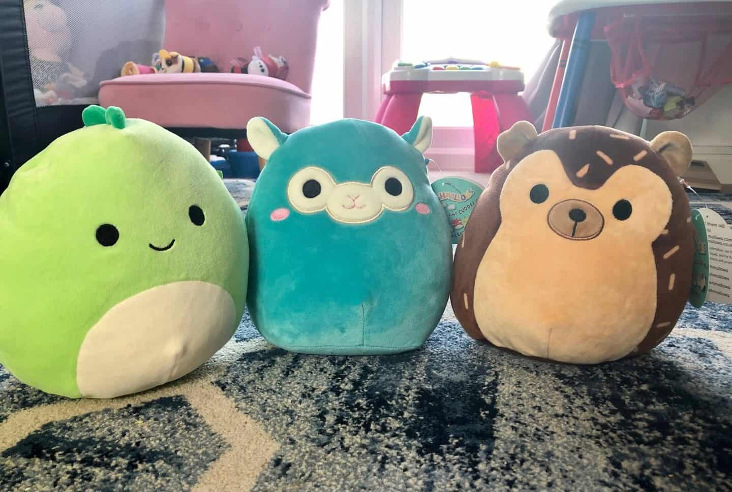 Squishmallows-Danny-the-Dino-TIM-the-ALAPACA