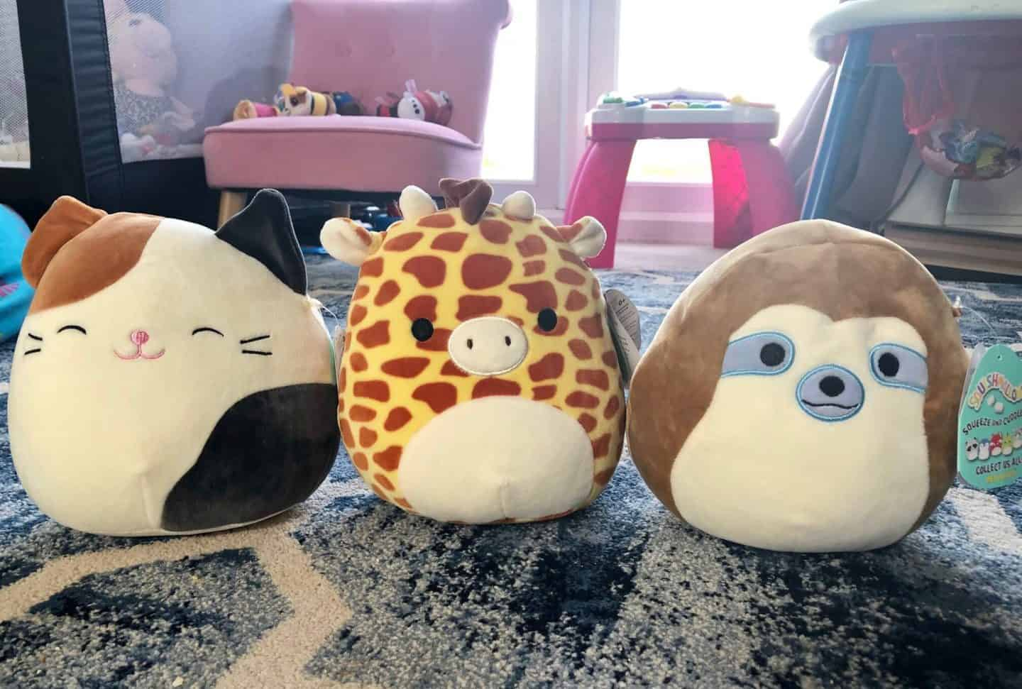 Squishmallows-GARY-the-GIRAFFE-Cameron-the-CAT
