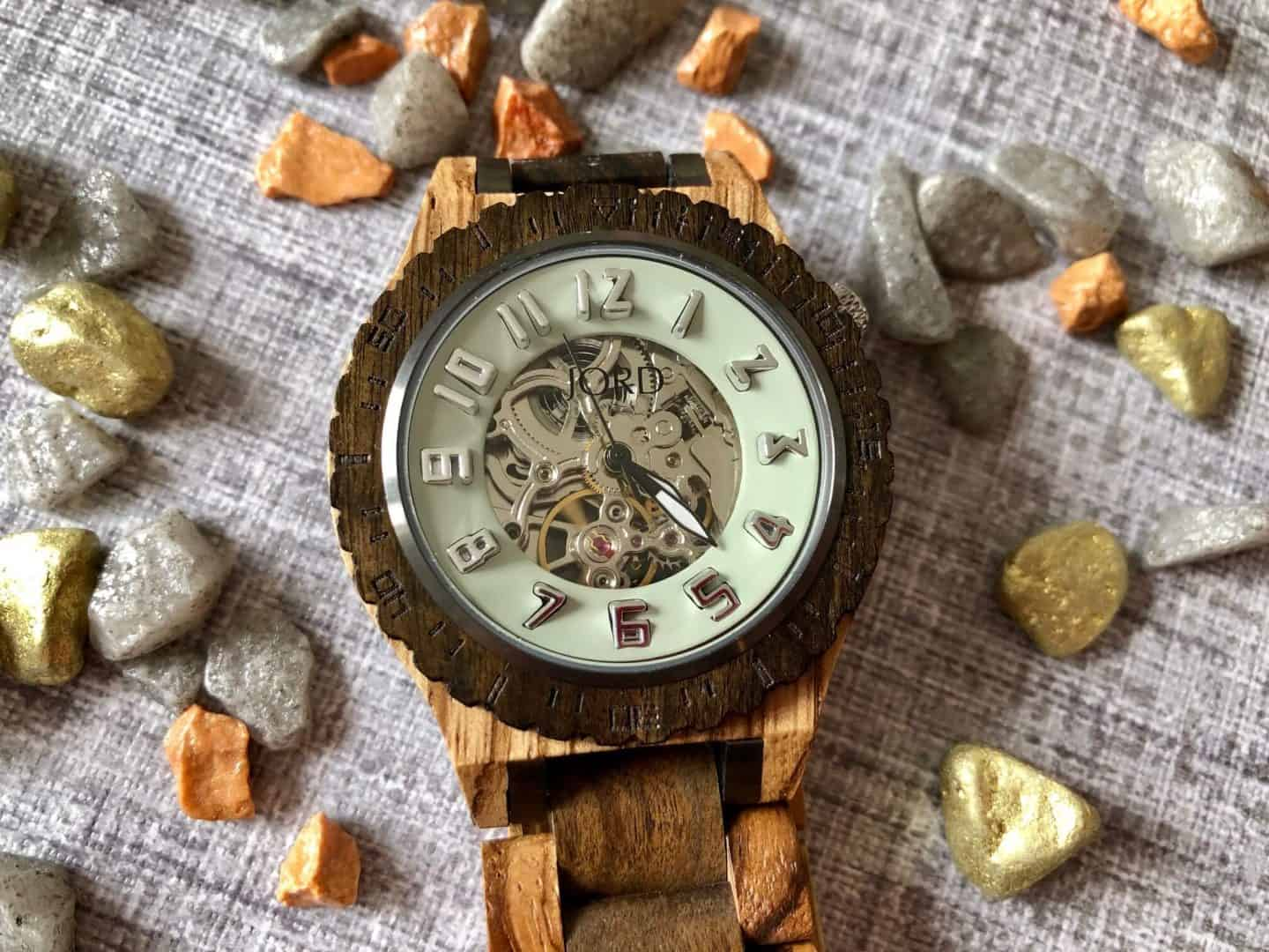 The Dover Series wood watch