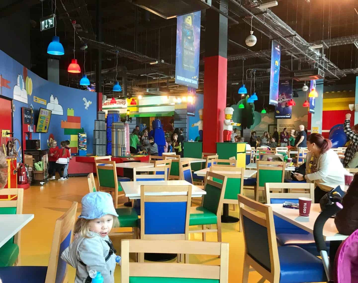 A Day Out In Manchester: Legoland Discovery Centre Review - the coffee shop