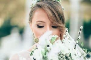 picture of the bride -10 Wedding Beauty Tips For Glowing Skin