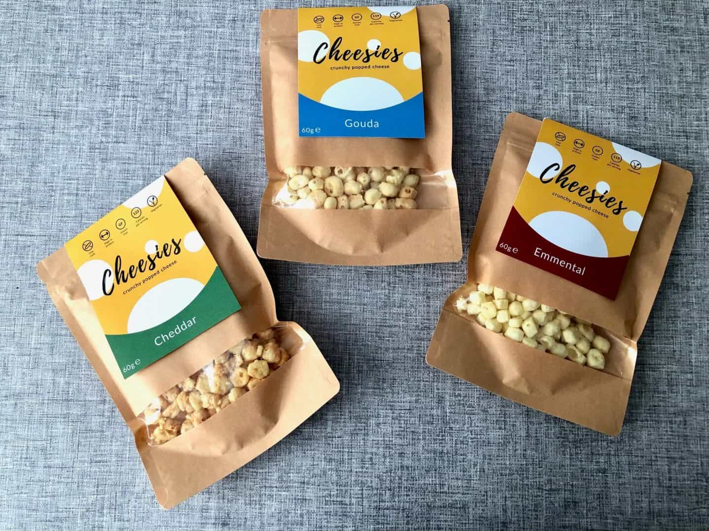 Cheesies Crunchy Popped Cheese Snack Review and Giveaway