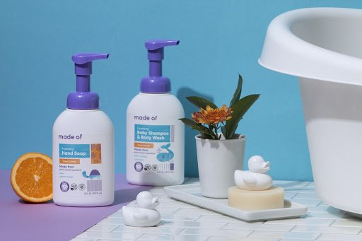 Made Of - The Best Organic Baby Shampoo