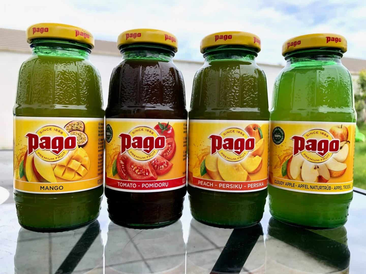 Pago Premium Fruit Juice range