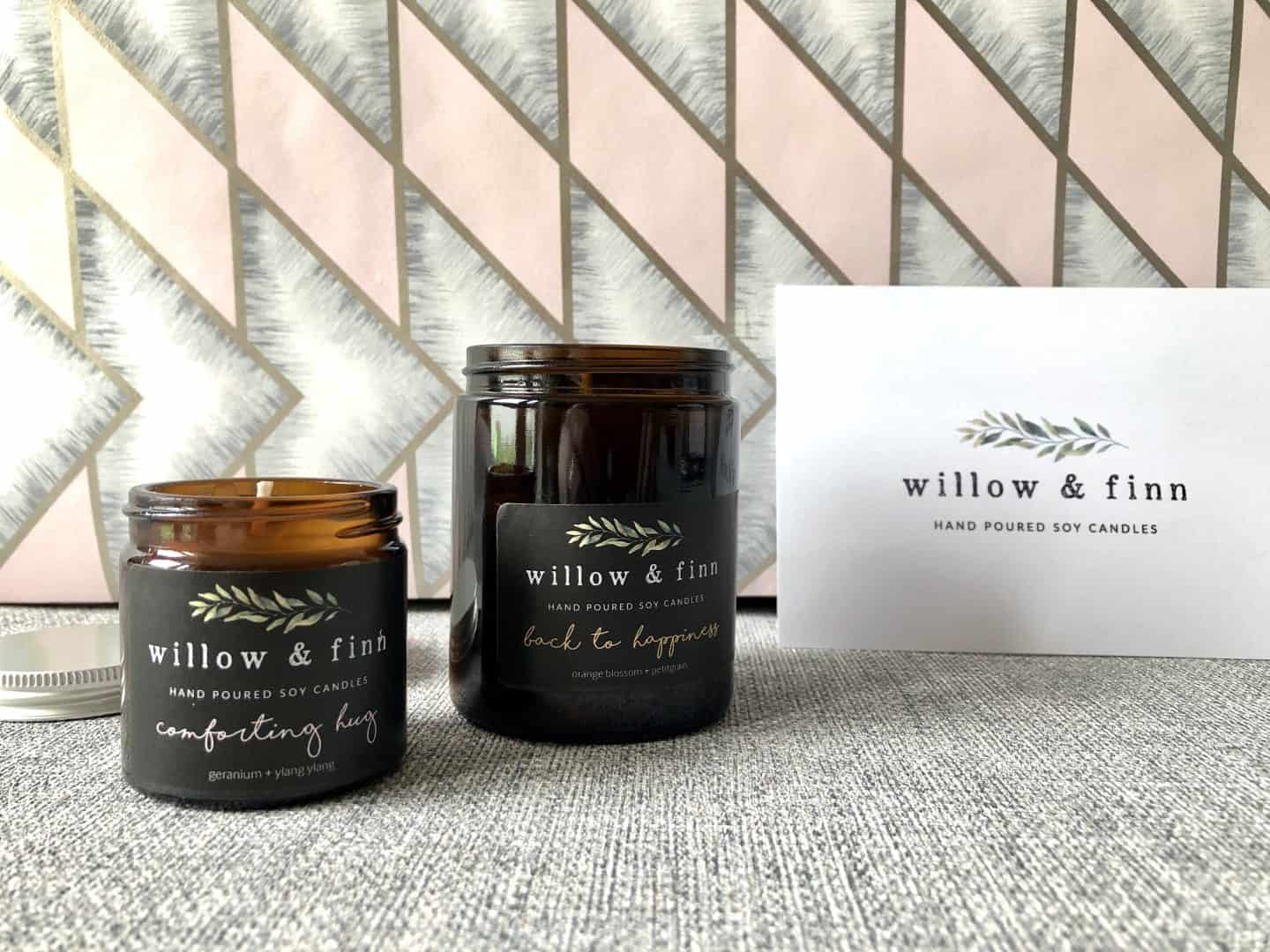 Willow & Finn soy candles