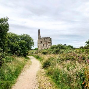 5 Reasons To Go On a Walking Holiday - old engine house Cornwall