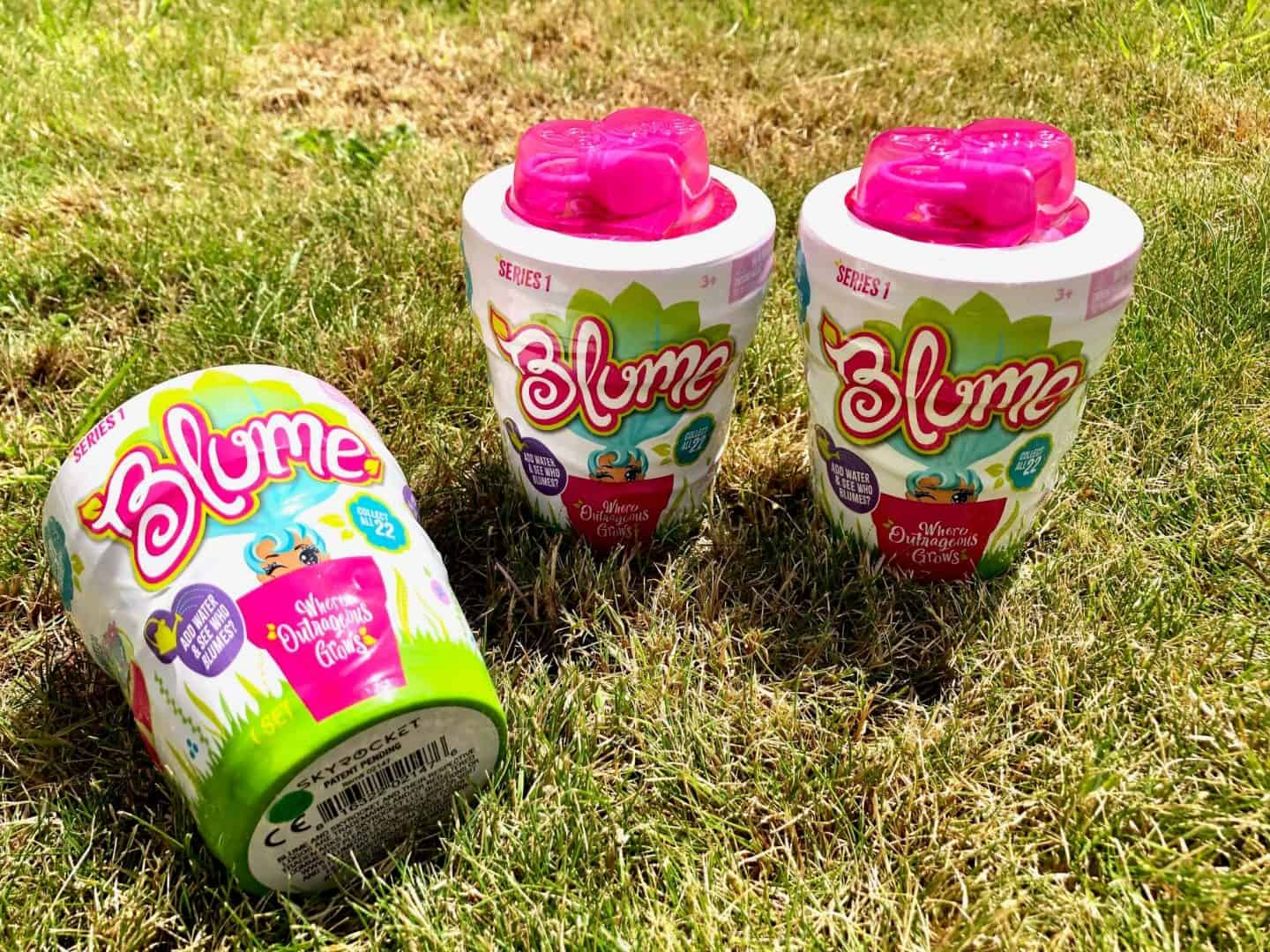 Blume Dolls Series 1: Grow Out of Flower Pots - Review