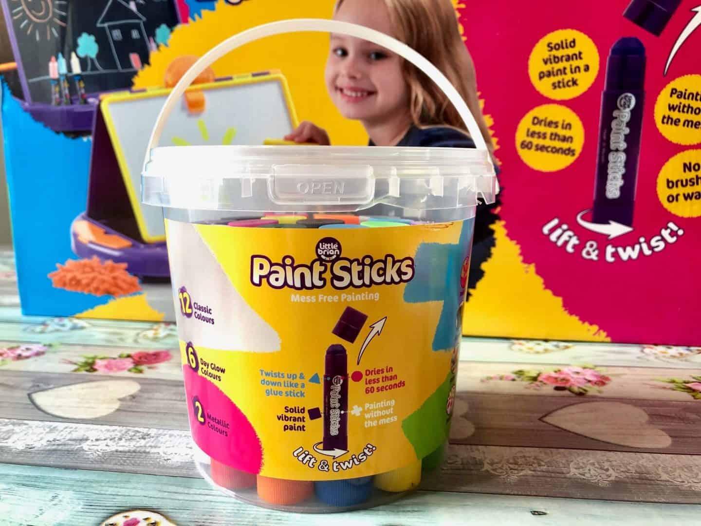 little brian paint sticks bucket