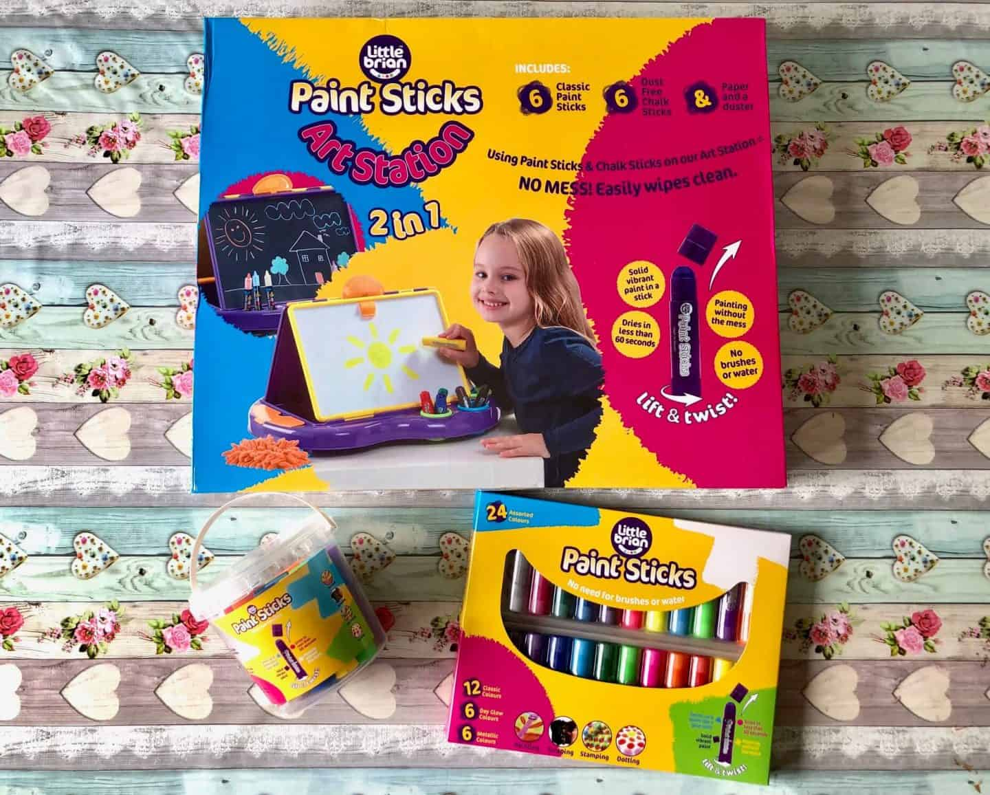 Little Brian Paint Sticks: Mess-Free Painting - Review