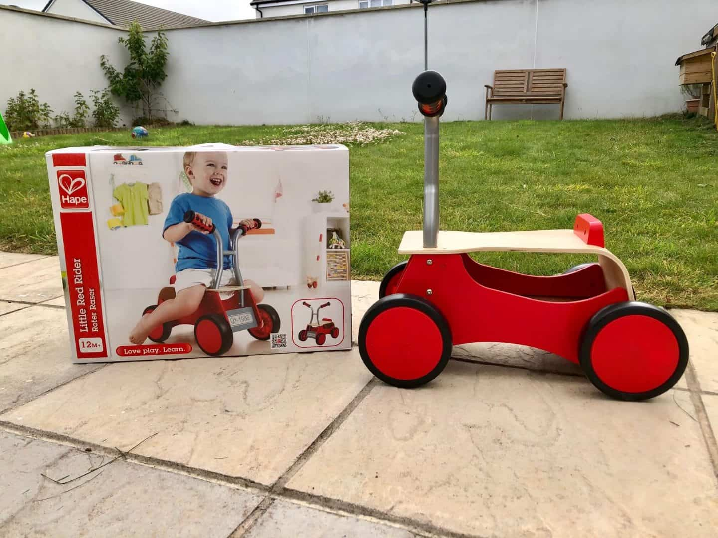 Little Red Rider from Hape - Review