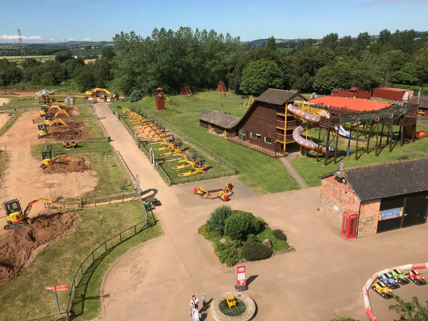 diggerland from the sky