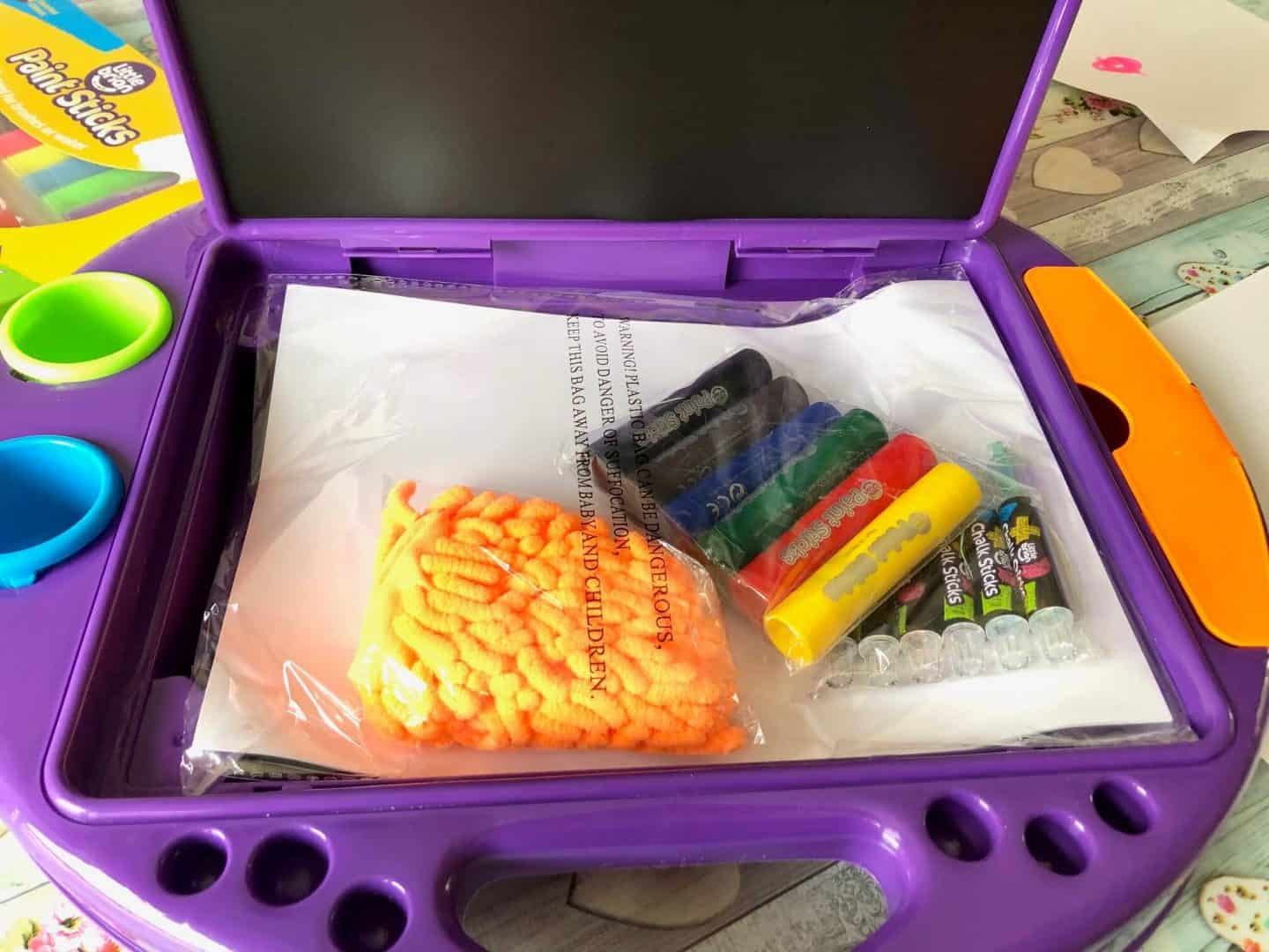 mess free art station