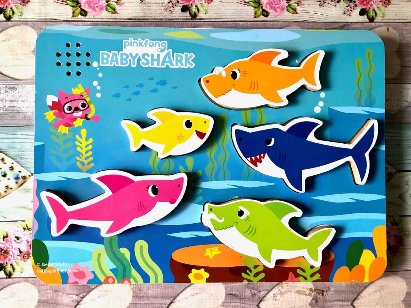 pinkfong baby shark toys