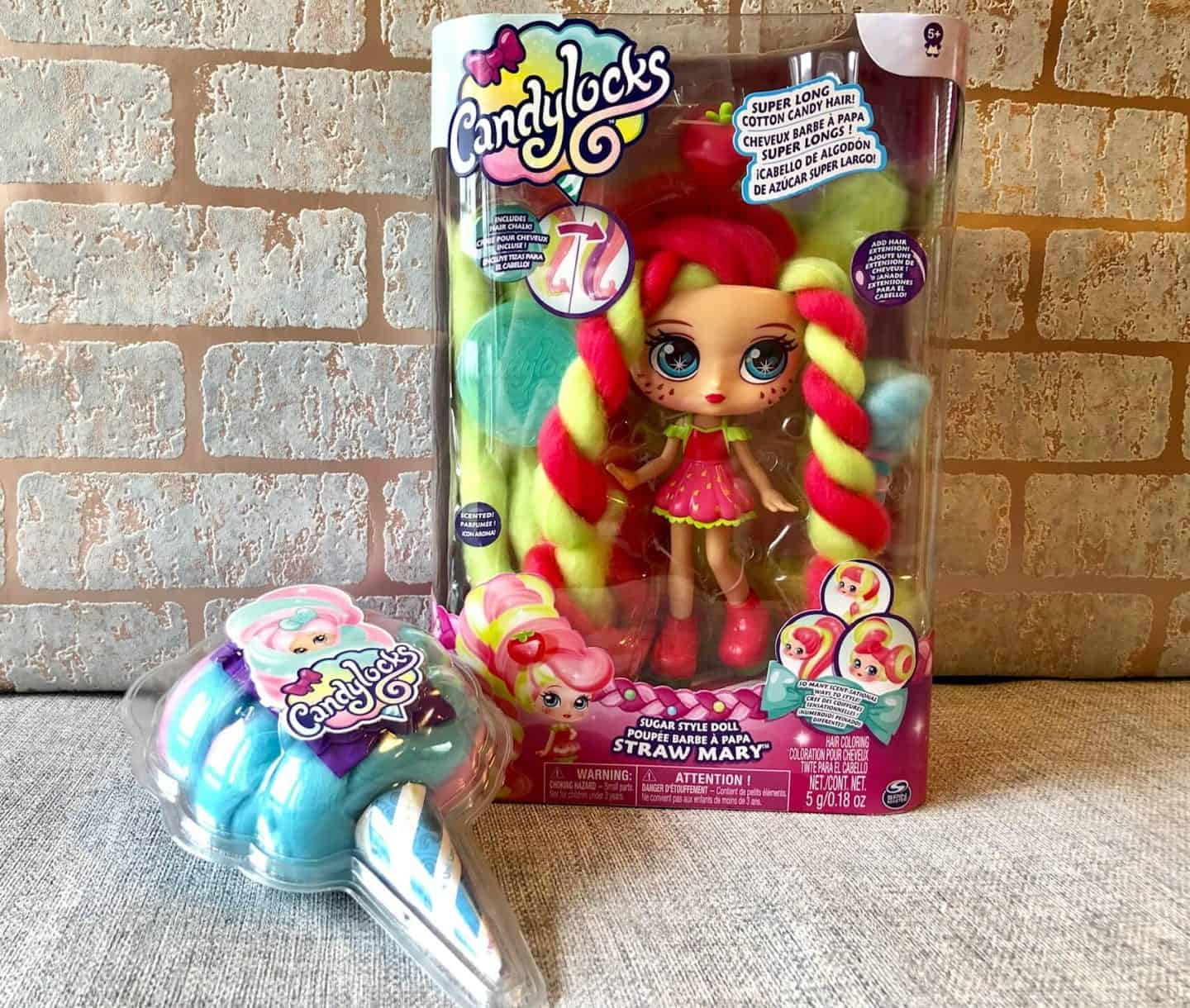 Candylocks Dolls - With Super Long Cotton Candy Hair