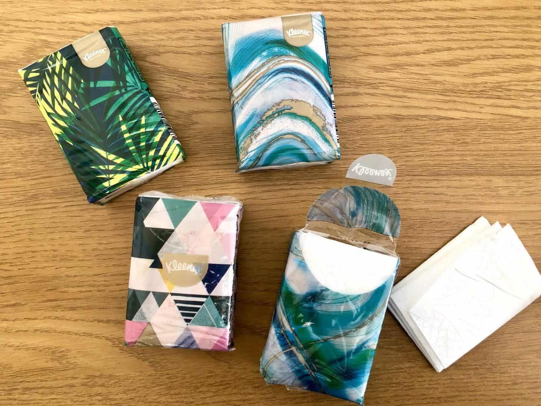 Kleenex Pocket Pack Tissues
