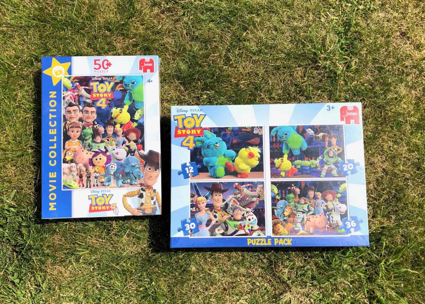 Toy Story 4 jigsaw puzzles from Jumbo.